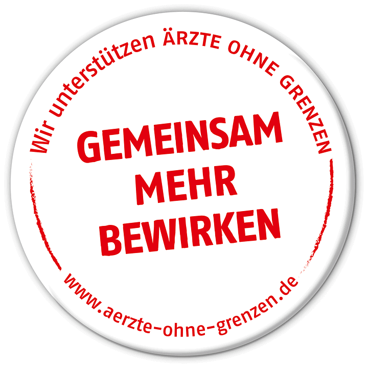 Ärzte ohne Grenzen – aid organization for emergency medical aid